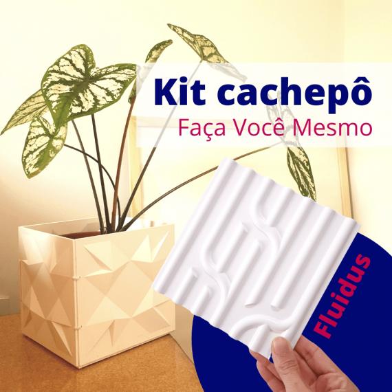 Kit cachepô DIY Fluidus