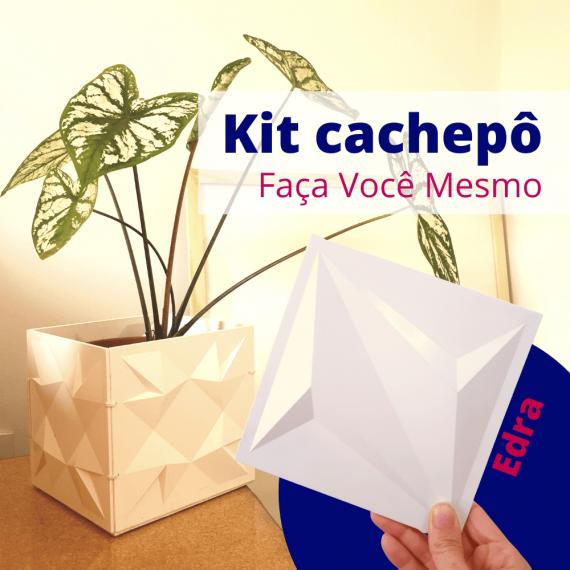 Kit cachepô DIY Edra