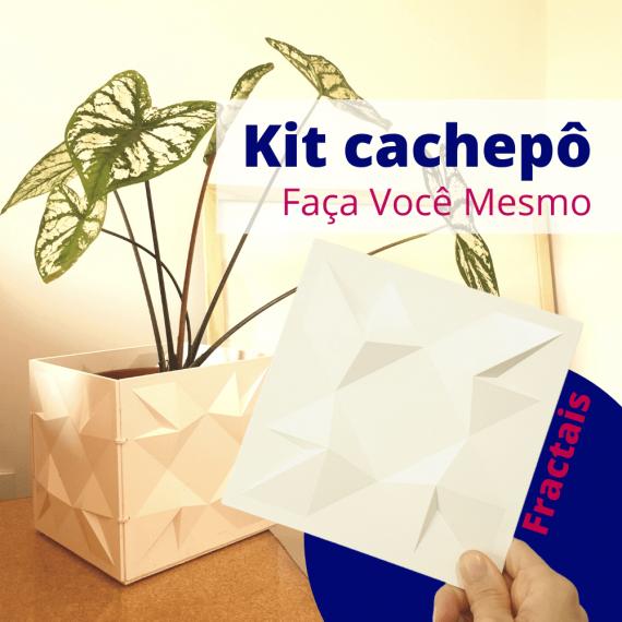 Kit cachepô DIY Fractais